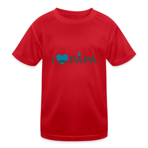 ik hoe van je papa - T-shirt sport Enfant