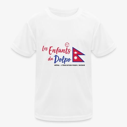 Les Enfants du Doplo - Grand Logo Centré - T-shirt sport Enfant