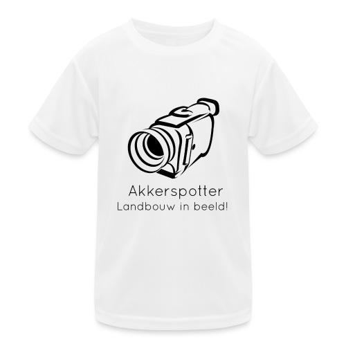 Logo akkerspotter - Functioneel T-shirt voor kinderen