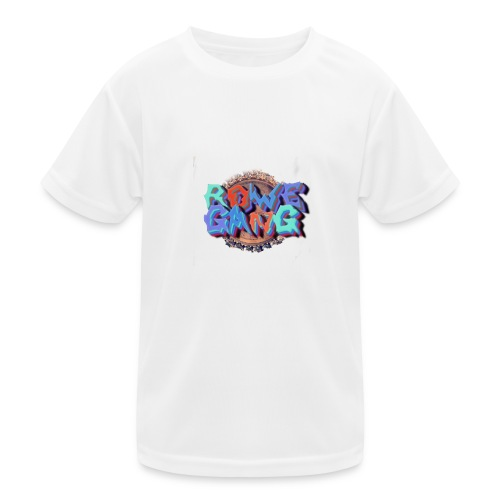 RoweGang Basic Logo - Lasten tekninen t-paita