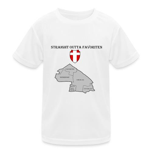 straight outta favoriten wien - Kinder Funktions-T-Shirt