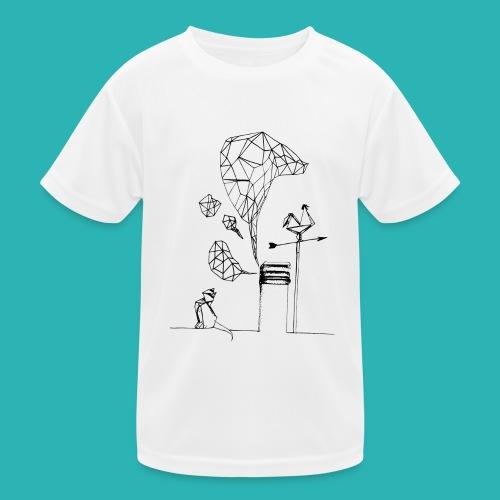 Carta_gatta-png - Maglietta sportiva per bambini
