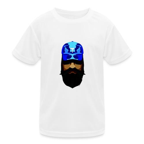 T-shirt gorra dadhat y boso estilo fresco - Camiseta funcional para niños
