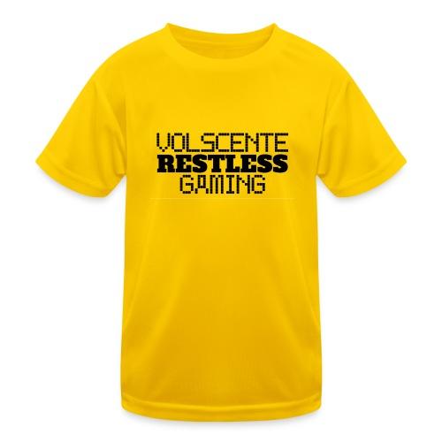Volscente Restless Logo B - Maglietta sportiva per bambini
