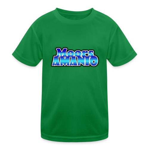 MoorsAmanioLogo - Functioneel T-shirt voor kinderen