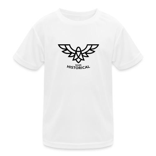 Text & Logo - Kids Functional T-Shirt