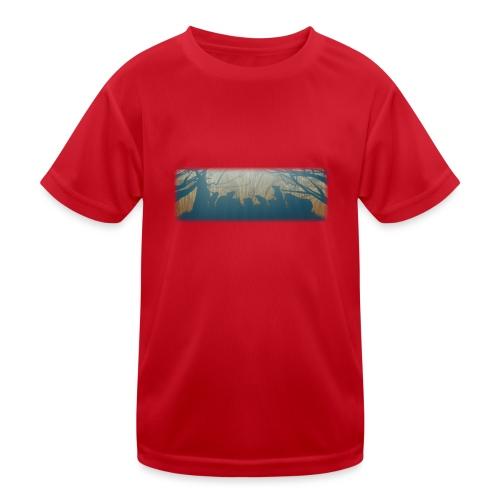 Jyrsijät - väri - Lasten tekninen t-paita