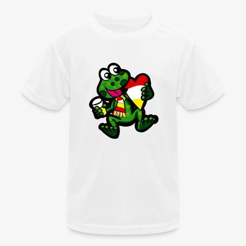 Oeteldonk Kikker - Functioneel T-shirt voor kinderen