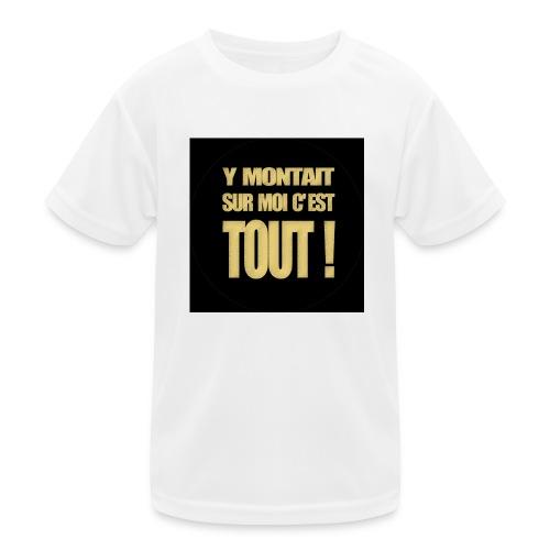 badgemontaitsurmoi - T-shirt sport Enfant