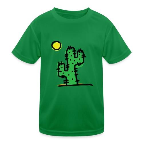 Cactus single - Maglietta sportiva per bambini