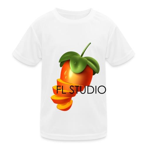 Sliced Sweaty Fruit - Kids Functional T-Shirt