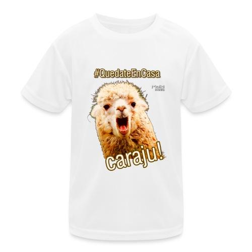 Quedate En Casa Caraju - Kids Functional T-Shirt