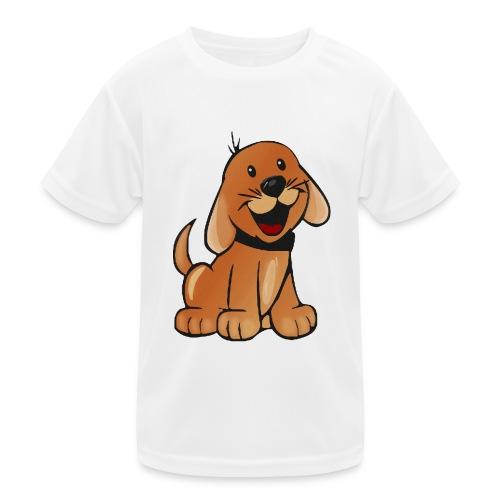 cartoon dog - Maglietta sportiva per bambini