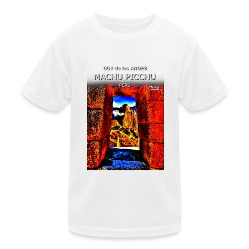 SOY de los ANDES - Machu Picchu II - Kids Functional T-Shirt