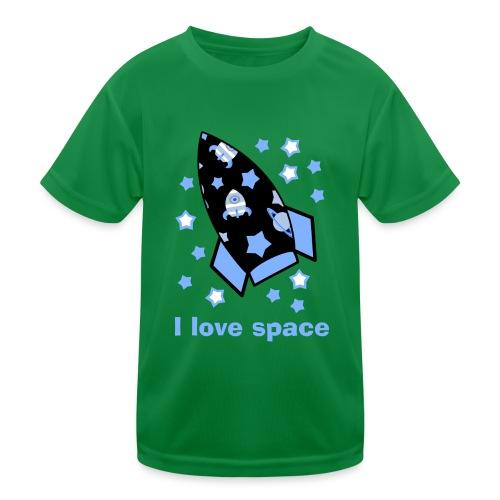 I love space - Maglietta sportiva per bambini