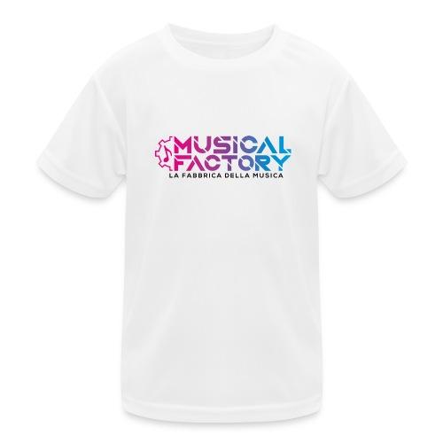 Musical Factory Sign - Maglietta sportiva per bambini