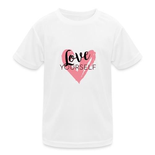 Love Yourself Pascal Voggenhuber - Kinder Funktions-T-Shirt