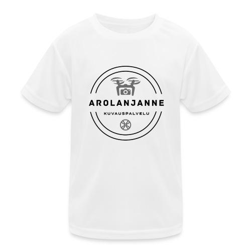 Janne Arola - kuva edessä - Lasten tekninen t-paita