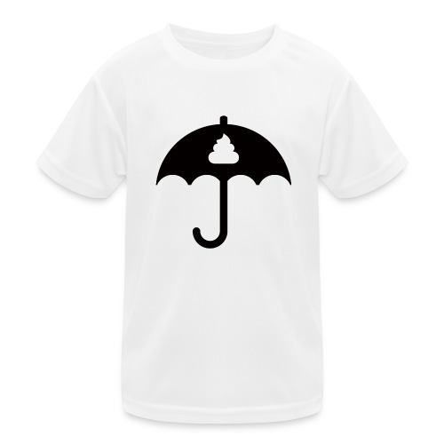 Shit icon Black png - Kids Functional T-Shirt