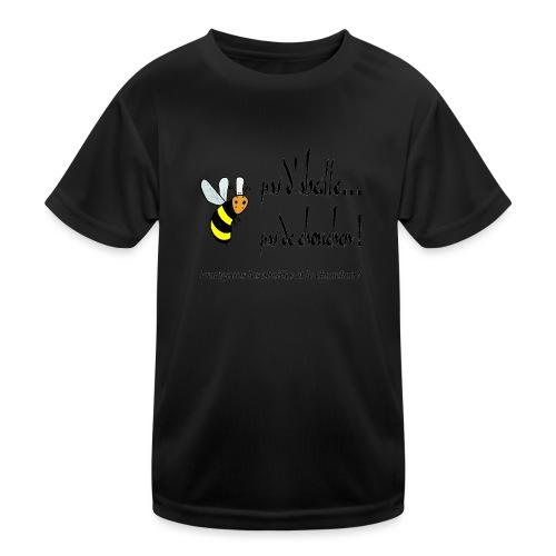 Pas d'abeille, pas de chouchen - T-shirt sport Enfant