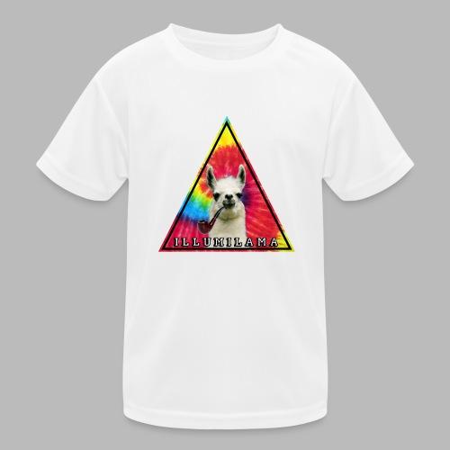 Illumilama logo T-shirt - Kids Functional T-Shirt