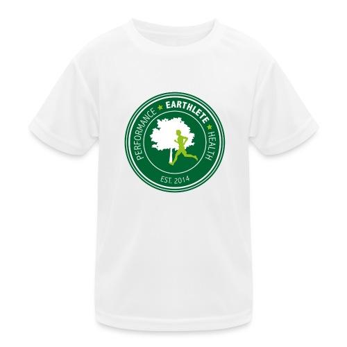 EARTHLETE Brand Logo - Funktionsshirt til børn