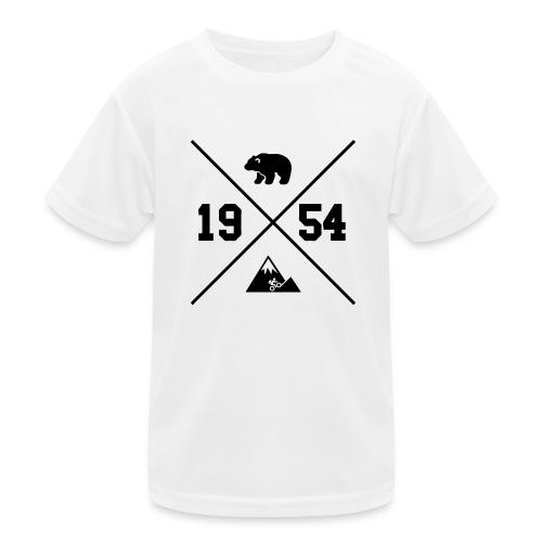 Karhuvuori -baseballhuppari - Lasten tekninen t-paita
