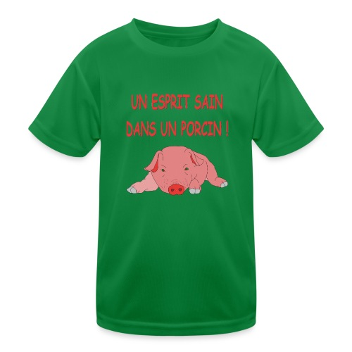 Porcitive Attitude - T-shirt sport Enfant