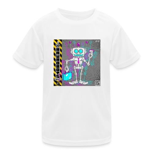 The S.A.L.E. Robot! - Funktionsshirt til børn
