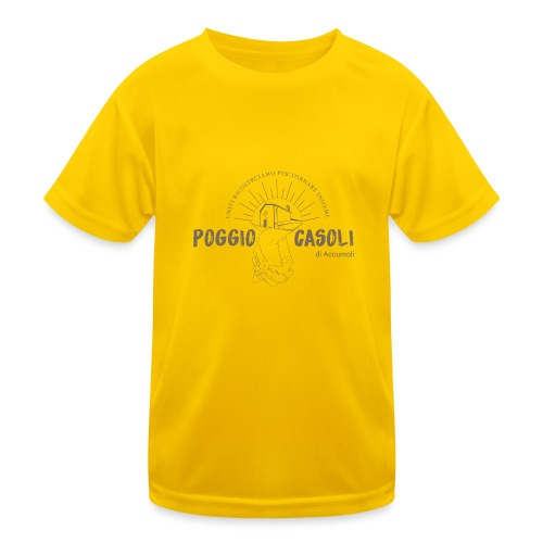 Poggio Casoli_Istituzionale - Maglietta sportiva per bambini