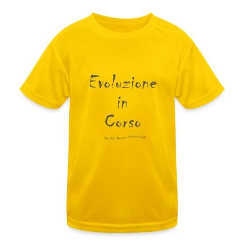 Evoluzione in corso - Maglietta sportiva per bambini