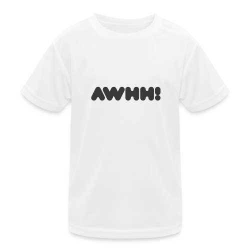 awhh - Kinder Funktions-T-Shirt