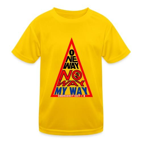 No way - Maglietta sportiva per bambini