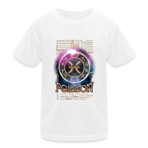 POISSONS - T-shirt sport Enfant