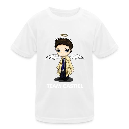 Team Castiel (dark) - Kids Functional T-Shirt