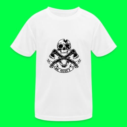 BE QUIET - T-shirt sport Enfant
