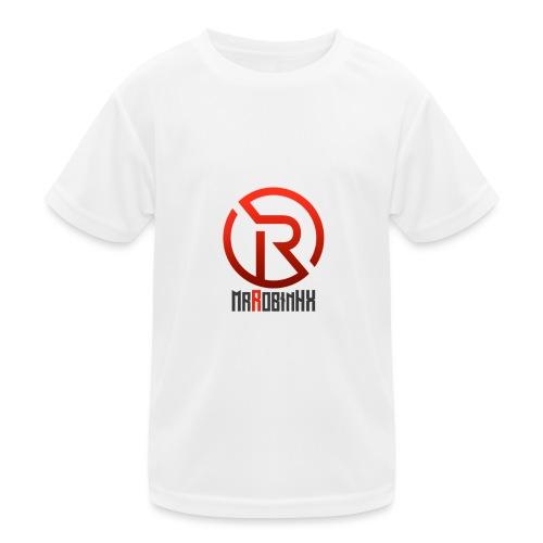 MrRobinhx - Funksjons-T-skjorte for barn