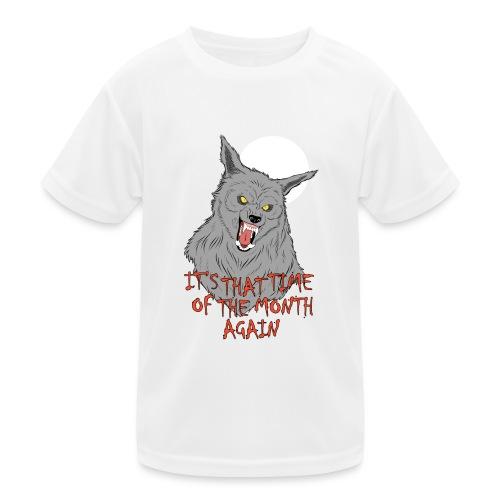 That Time of the Month - Funkcjonalna koszulka dziecięca