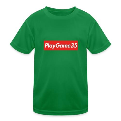 PlayGame35 - Maglietta sportiva per bambini