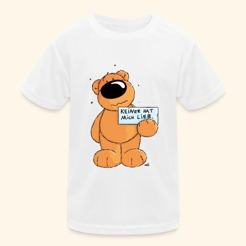 chris bears Keiner hat mich lieb - Kinder Funktions-T-Shirt