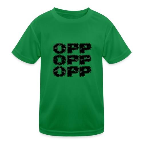 OPP Print - Lasten tekninen t-paita