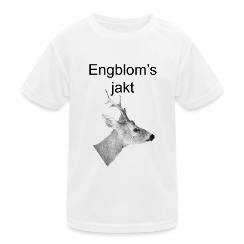 Officiell logo by Engbloms jakt - Funktions-T-shirt barn