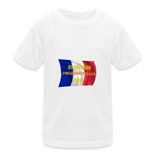 ELECTIONS 2017 - T-shirt sport Enfant
