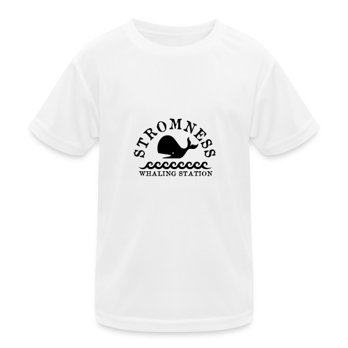 Sromness Whaling Station - Kids Functional T-Shirt