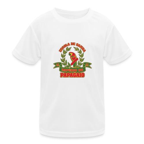 Papagaio logo - Lasten tekninen t-paita