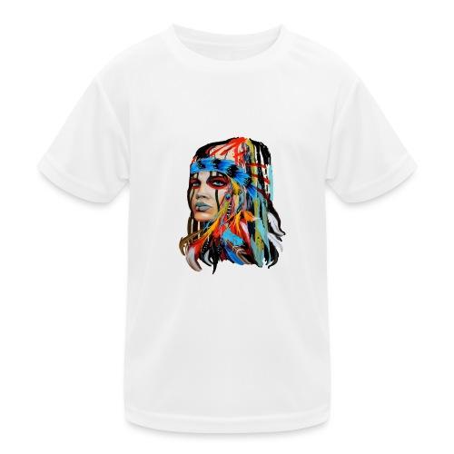 Pióra i pióropusze - Funkcjonalna koszulka dziecięca