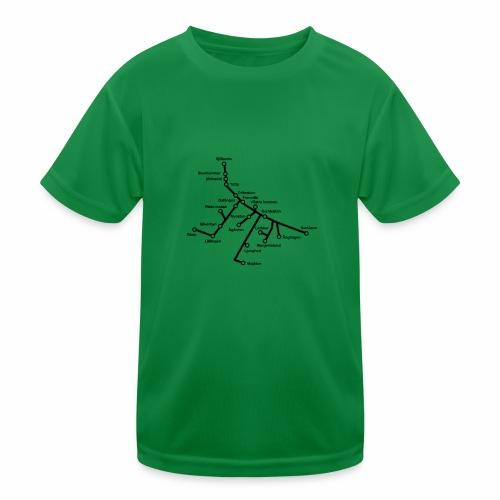 Lisch Tisch Hoods - Funktions-T-shirt barn
