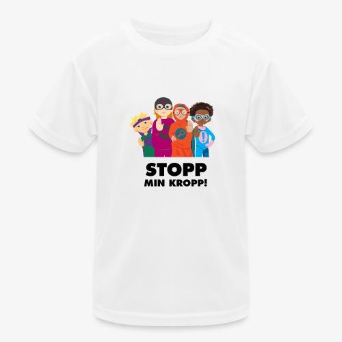Stopp min kropp! - Funktions-T-shirt barn