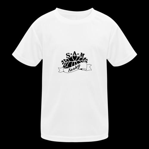 SamShaky - Lasten tekninen t-paita