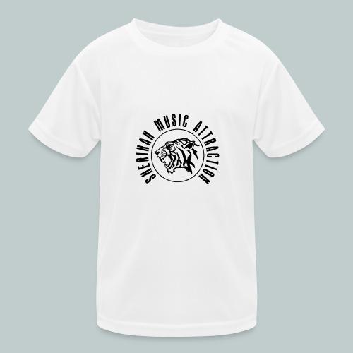 Sherikan Logo - Funktions-T-shirt barn